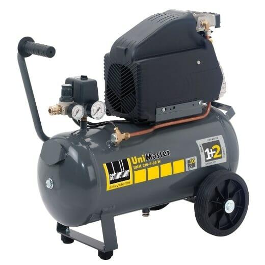 Mobilní kompresor do dílen, garáží a servisních aut.