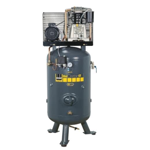 Nejuniverzálnější stacionární kompresor na 500l vzdušníku. Vhodný i do exponovaných provozů servisů a lakoven s jedním boxem.